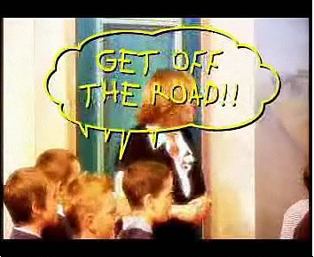Road Safety - Get off the road