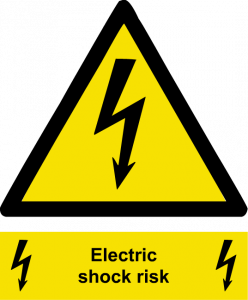 Risk of Electric Shock