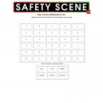 Firework Safety word search 1