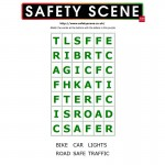 Road safety word search 1