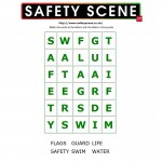 Water Safety word search 1